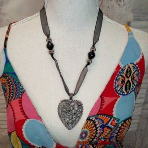 Avenue Heart Necklace